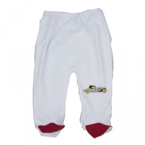 Pantalon à pieds bébé