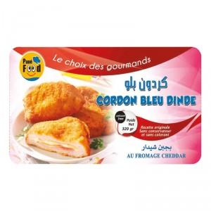 Cordon bleu de dinde pané surgelé FOOD