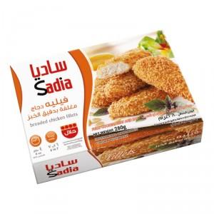 Filet de poulet pané surgelé SADIA